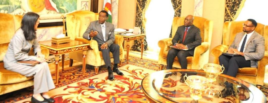 Ambassador Furuta-Toy Meets with President Obiang